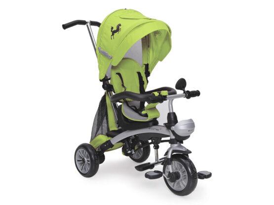 Tricicleta Copii Moni Mustang Verde