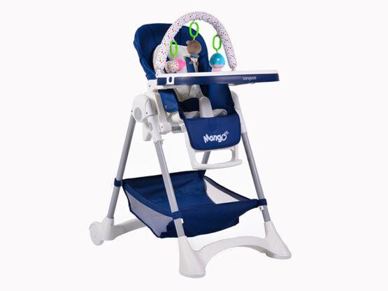 Scaun De Masa Copii Moni Mango Albastru Inchis