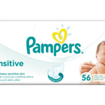 Pampers Servetele Sensitive Alb, 56 bucati