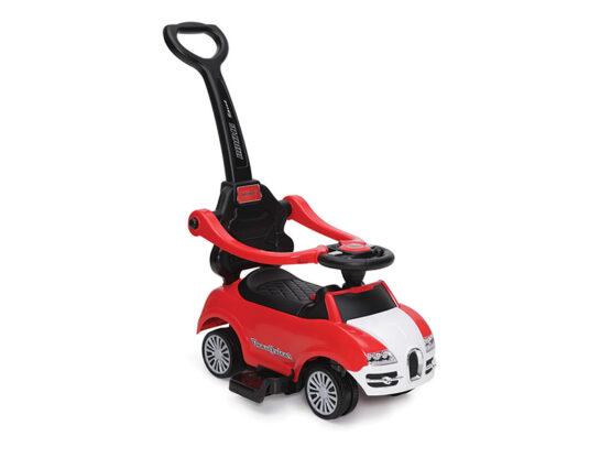 Masinuta De Impins Copii Moni Rider 2 In 1 Rosu