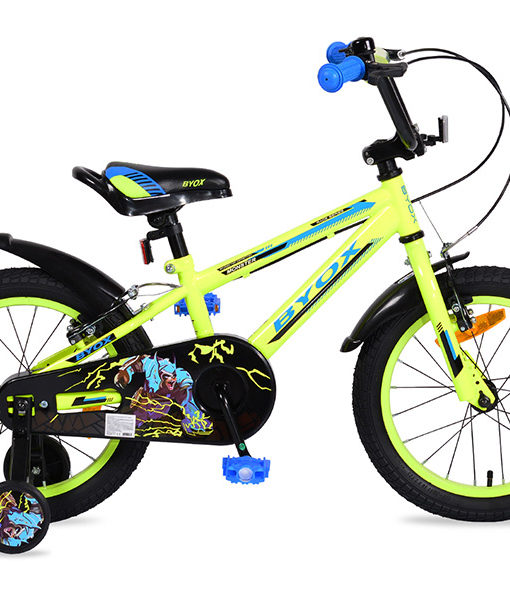 Bicicleta Copii Byox 16 Monster Verde