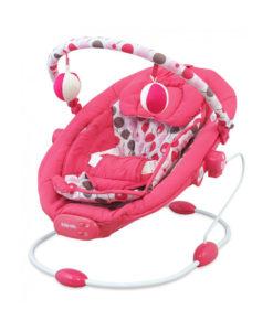 Balansoar muzical copii Baby Mix LCP BR245 014 Pink