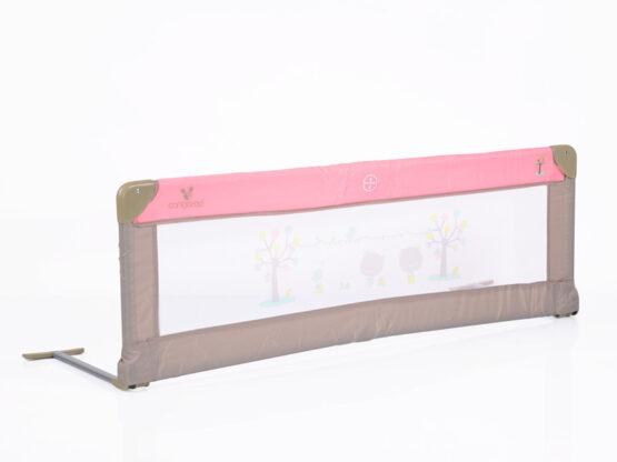 Bariera pentru patut copii Cangaroo 130 cm Roz