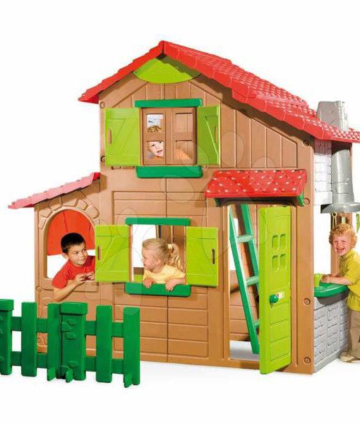 Casuta De Joaca Smoby Duplex Cu Etaj 320020