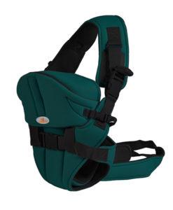 Marsupiu Bebe Si Copii Cangaroo Carry-Go Verde Inchis