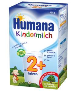 Lapte praf Humana Kindermilch 2 de la 2 ani 550 g