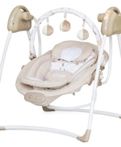 Leagan electric si balansoar Chipolino Paradise beige sheep