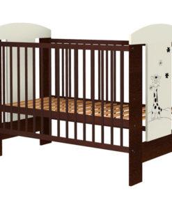 Patut copii din lemn Hubners Carolin Girafa 120×60 cm venghe