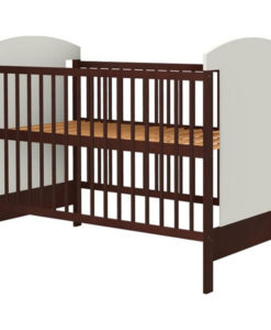Patut copii din lemn Hubners Kamilla 120×60 cm venghe