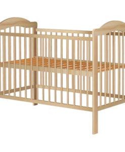 Patut copii din lemn Hubners Lizett 120×60 cm natur