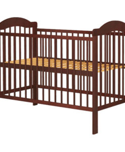 Patut copii din lemn Hubners Lizett 120×60 cm venghe