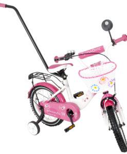 Bicicleta copii MyKids Toma Princess Pink 12