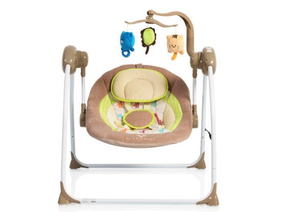Leagan Electric Moni Baby Swing+ Cappucino