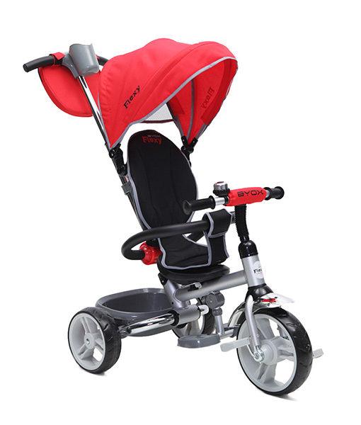 Tricicleta Copii Moni Flexy Rosu