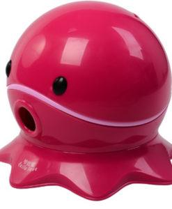 Olita cu suport pentru hartie Octopus Roz