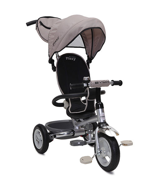 Tricicleta Copii Moni Flexy Air Beige