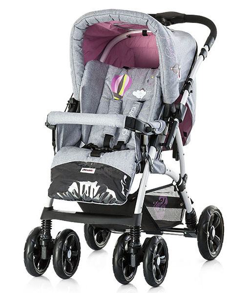 Carucior Chipolino Dakota pink