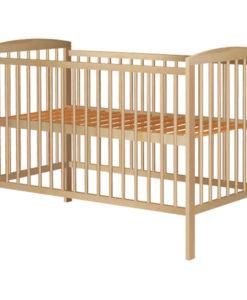 Patut copii din lemn Hubners Anzel 120×60 cm natur