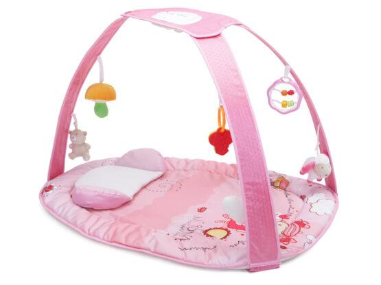 Covoras de joaca Cangaroo Pastel Pink Blanket