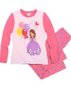 Pijama Disney Sofia Fucsie