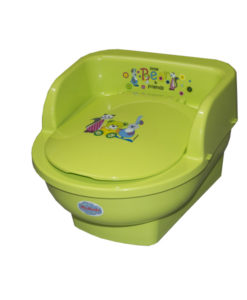 Olita copii MyKids Throne Little Bear and Friends Verde