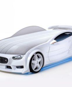 Pat masina tineret MyKids NEO BMW Alb