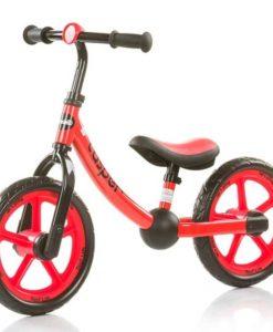 Bicicleta fara pedale Chipolino Casper red