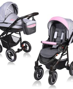 Carucior Crooner 2 in 1 – Vessanti – Pink/Gray