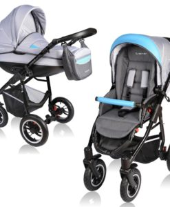 Carucior Crooner 2 in 1 – Vessanti – Blue/Gray