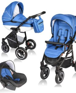 Carucior Crooner 3 in 1 – Vessanti – Blue