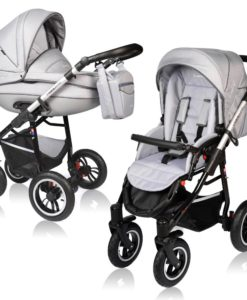 Carucior Crooner Prestige 2 in 1 – Vessanti – Light Gray