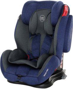Scaun auto cu Isofix Salsa Pro – Coto Baby – Melange Albastru Inchis