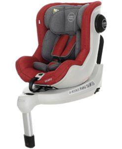 Scaun auto cu Isofix Solario – Coto Baby – Melange Rosu
