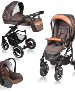 Carucior Crooner 3 in 1 – Vessanti – Brown