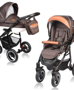 Carucior Crooner 2 in 1 – Vessanti – Brown