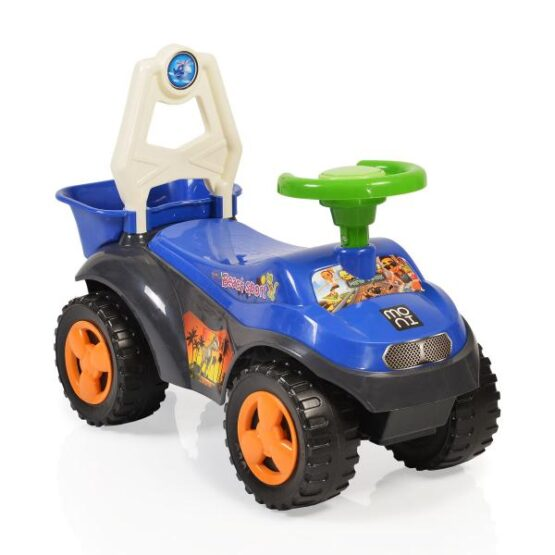Masinuta de impins Sand Beach Car Blue 8206