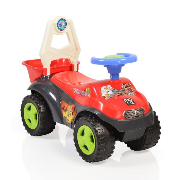 Masinuta de impins Sand Beach Car Red 8206