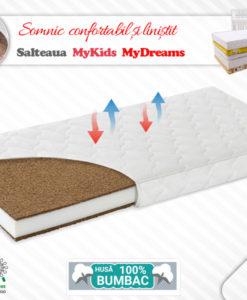 Saltea Fibra Cocos MyKids MyDreams II 115x55x10 (cm)