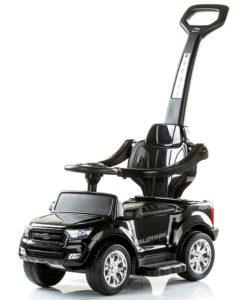 Masinuta de impins Chipolino Ford Ranger black cu maner