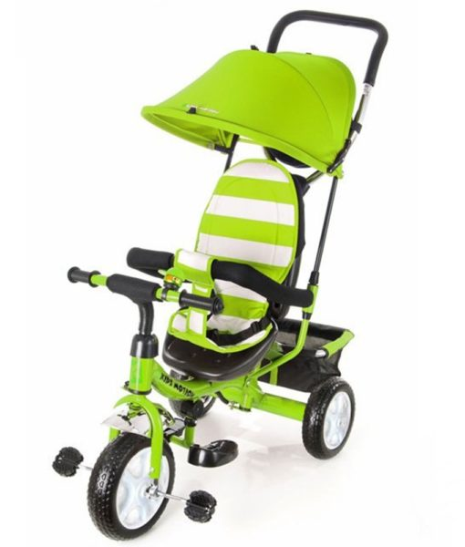 Tricicleta Kidz Motion Tobi Junior green