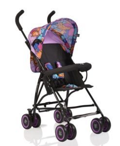 Carucior Copii Sport Moni Billy Purple Butterflies