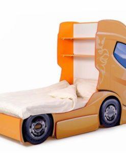 Pat camion tineret MyKids DUO SCANIA+1 Orange