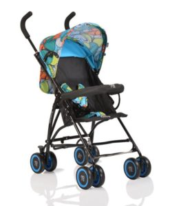 Carucior Copii Sport Moni Billy Blue Butterflies