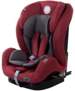 Scaun auto cu sistem Isofix si DTS 9-36 kg – Sun Baby – Rosu