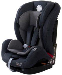 Scaun auto cu sistem Isofix si DTS 9-36 kg – Sun Baby – Gri