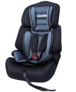 Scaun auto Large Seat 9-36 kg – Mamakids – Gri