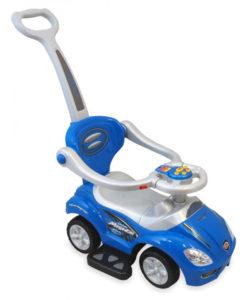 Masinuta de impins copii Baby Mix URZ382 2 in 1 Blue
