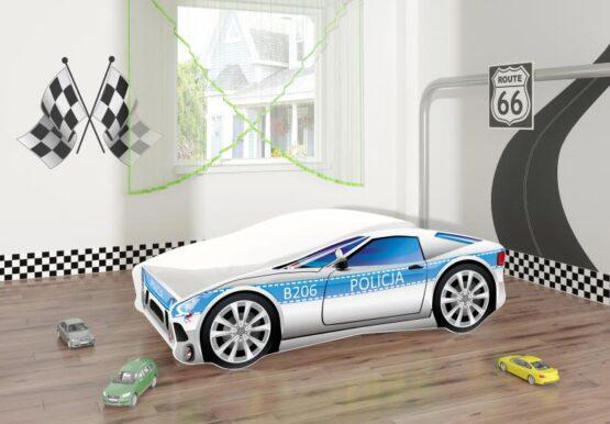 Pat Tineret MyKids Race Car 09 Policja-140×70