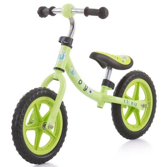Bicicleta fara pedale Chipolino Moby green