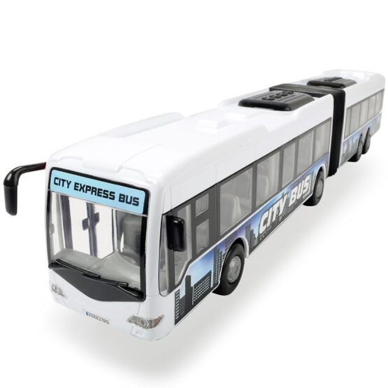 Autobus Dickie Toys City Express Bus alb